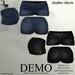 De designs heather shorts demo
