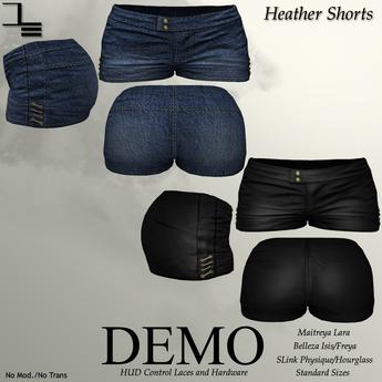 DE Designs - Heather Shorts - DEMOS