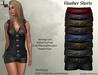 DE Designs - Heather Shorts - Leather Fatpack