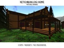 Ketchikan Log Home
