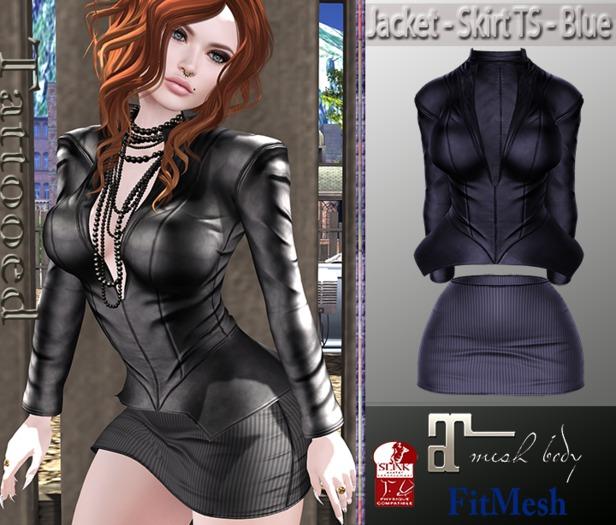 Jacket - Skirt TS - Blue