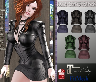 Jacket - Skirt TS - Fat Pack