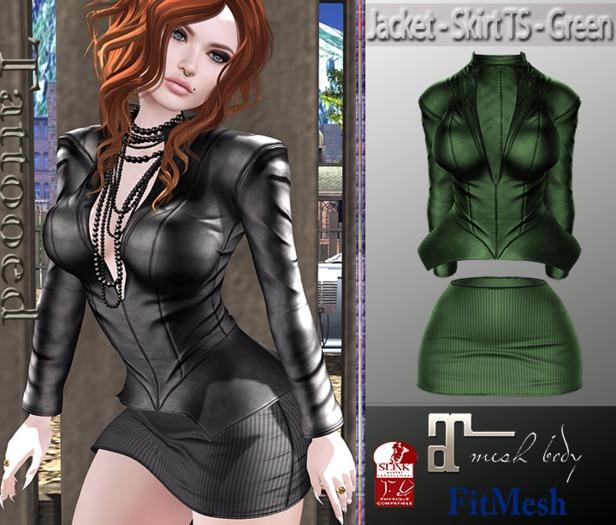Jacket - Skirt TS - Green