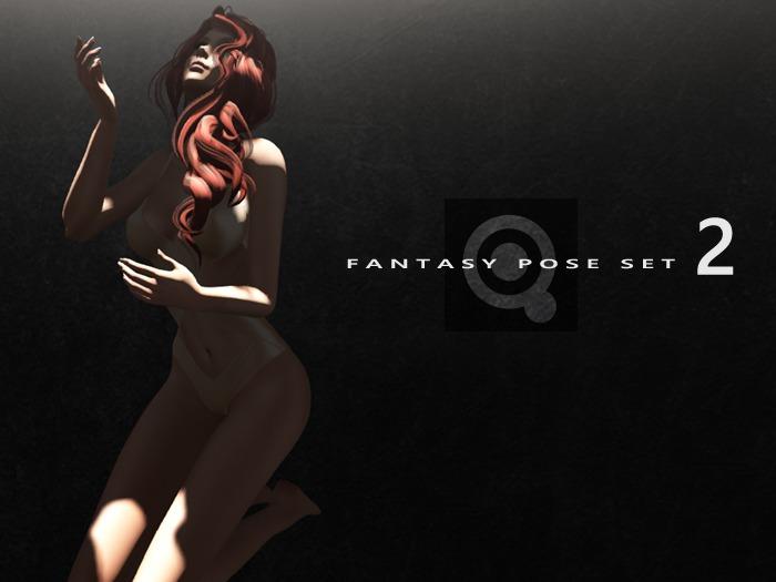 [ Quixotica ] Fantasy Pose, Set 2