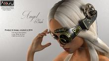 AZOURY - Angel Blinkers [Black]
