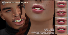 [Since1975] - Mesh Teeth Gold Pack 1
