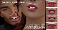 [Since1975] - Broken Mesh Teeth & Braces