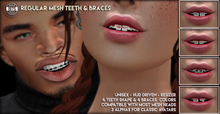 [Since1975] - Regular Mesh Teeth & Braces