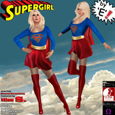 Miss Supergirl Costume by 'E'