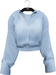 NYU - Grommet Sleeve Shirt, Blue