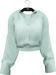 NYU - Grommet Sleeve Shirt, Green