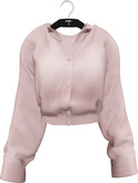 NYU - Grommet Sleeve Shirt, Pink