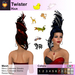 A&A Twister Hair Variety Pack. Fun resizable mesh womens updo hairstyle