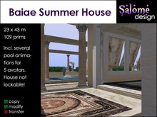 Baiae Summer House  - for rich Romans - Price lowered!