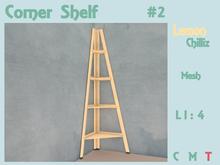Corner Shelf - Basic (Mesh) [Lemon Chilliz]