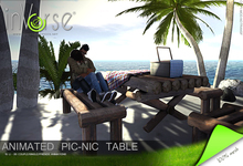 inVerse® MESH -Romantic pic-nic table