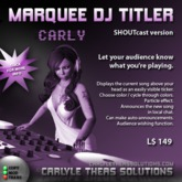 (CTS) Marquee DJ Titler v1.0