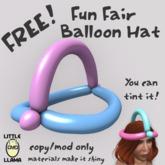 Little Llama - Fun Fair Balloon Hat