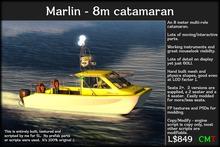 marlin catamaran (boxed)
