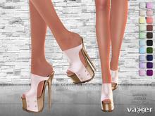 Vaxer :: Mine Shoes (Maitreya Lara, Slink High and Belleza) @ 20 Colors