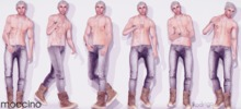 "STUN - Poses Pack Collection ""Rodrigo"" #02"