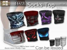 EB Atelier - * Mesh_Socks Top * GOTHIC Resize & Modify - italian designer