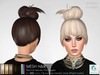 rezology Blunted Topknot (mesh hair) NC - 1749 complexity