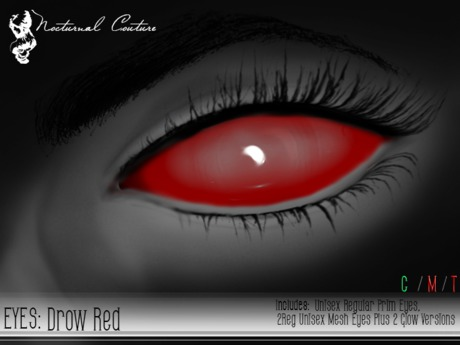 NC : Drow Red Eyes With Resizer