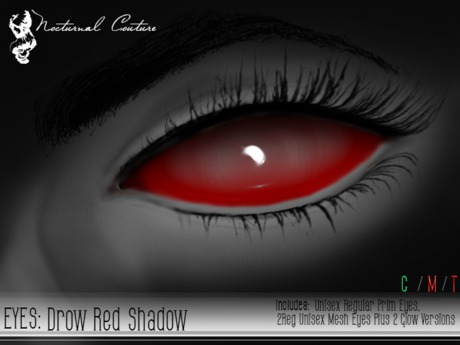NC : Drow Red Shadow Eyes With Resizer