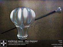 [ht+] walking cane - the dapper