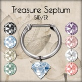LOTUS. Treasure Septum - Silver