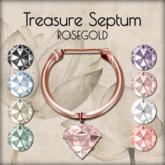 LOTUS. Treasure Septum - Rosegold