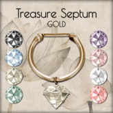 LOTUS. Treasure Septum - Gold