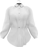 NYU - Buttoned-Up Long Sleeve Shirt, White