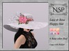 Nsp lace rose floppy hat   v3