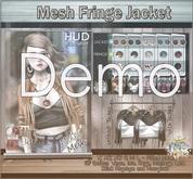 DEMO  NS::  Mesh Fringe Jacket
