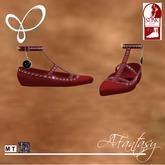 Afantasy FLAT SLINK Color Change Lace & Studded Shoes