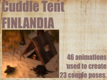 ^Cuddle Tent^~Black Design/FINLANDIA~