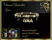 RJ Charm Mesh Bracelets - GMA