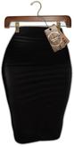 [AB] Lonely Pensil Dress Black