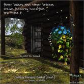 -Hanaya- Fantasy Hanging Basket [mesh]