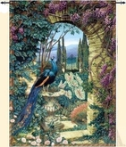 tapestry peacock