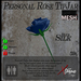 Mesh Blue Rose TipJar