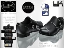 YACK - Mens MESH Shoes Oxford - HUD Textures