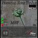 Green Mist Rose TipJar