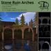 Stone ruin arches