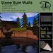 [DDD] Stone Ruin Walls