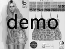 Bens Boutique - Gulay Mini Dress V2 -Hud Driven Demo