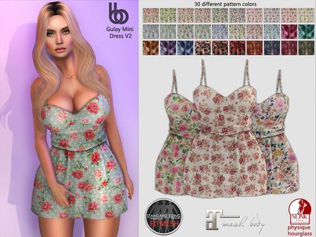 Bens Boutique - Gulay Mini Dress V2 -Hud Driven