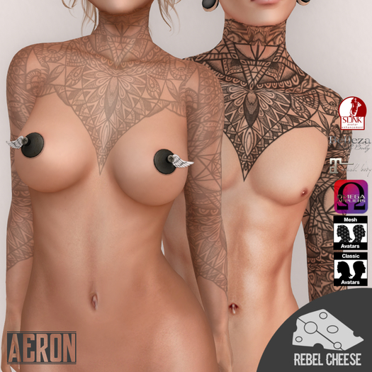 -RC- Aeron Tattoo (With Appliers)